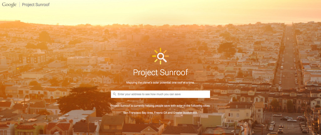 Google Solar Roof >> News In Solar Google Launches Project Sunroof Sol Up Usa