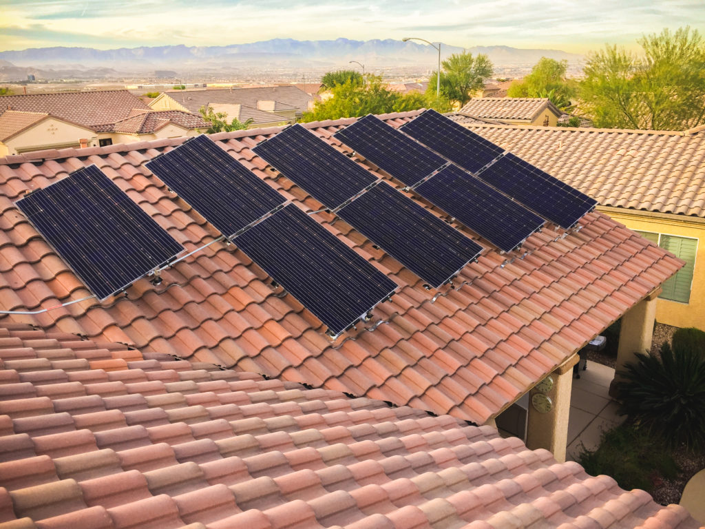 Henderson Nevada Solar Panel Installation - Solup