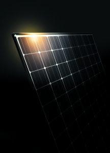 Shining Panasonic Solar Panels
