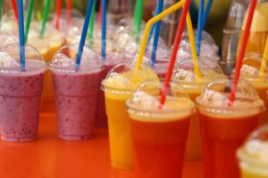 Smoothies with a bendy plastic straw could be harming the planet.