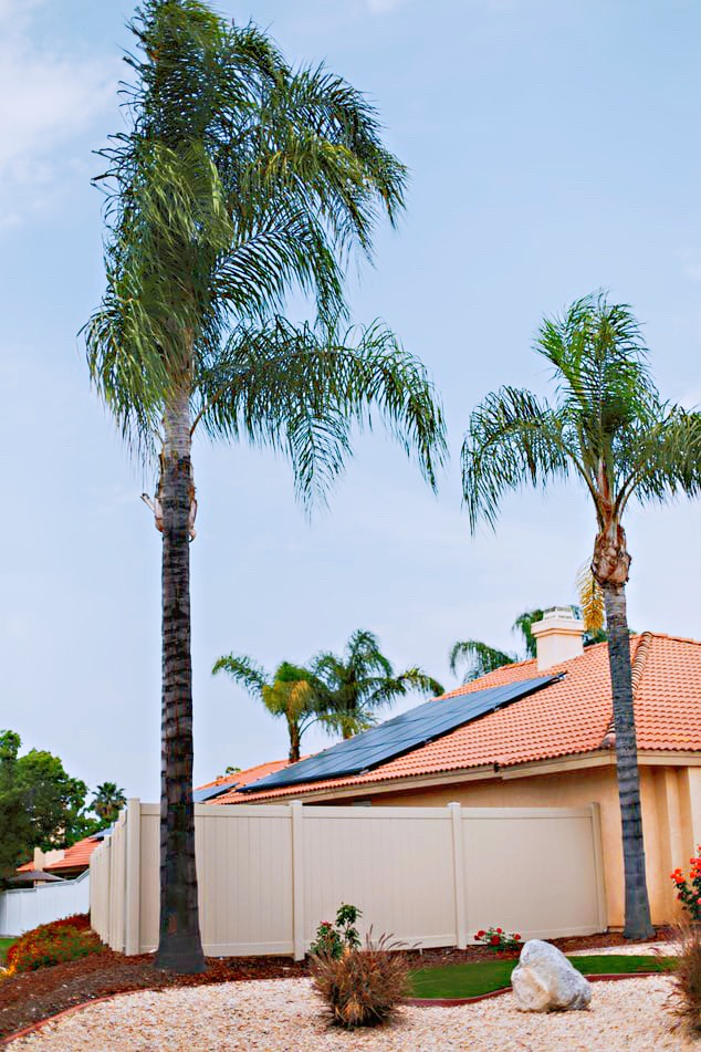 Solar Panels utilizing net metering on a NV home